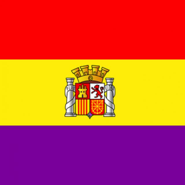 Drapeau de la République d'Espagne