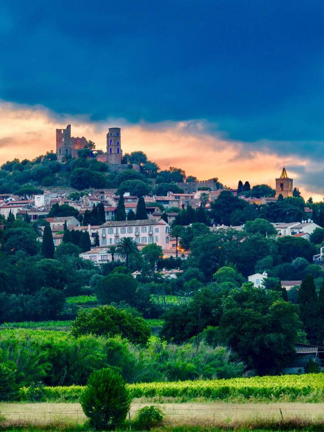 Grimaud Village Historique Var