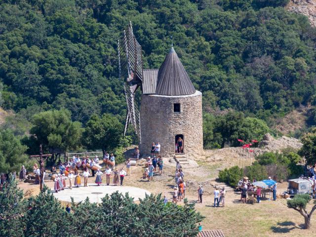 Moulin Saint Roch Grimaud Var (2)