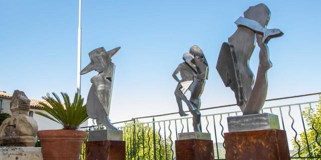 Exposition Sculptures Monumentales Grimaud Var (1)