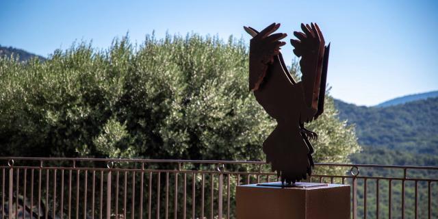 Exposition Sculptures Monumentales Grimaud Var (3)