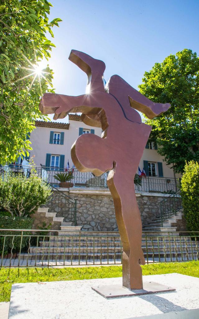 Exposition Sculptures Monumentales Grimaud Var (8)
