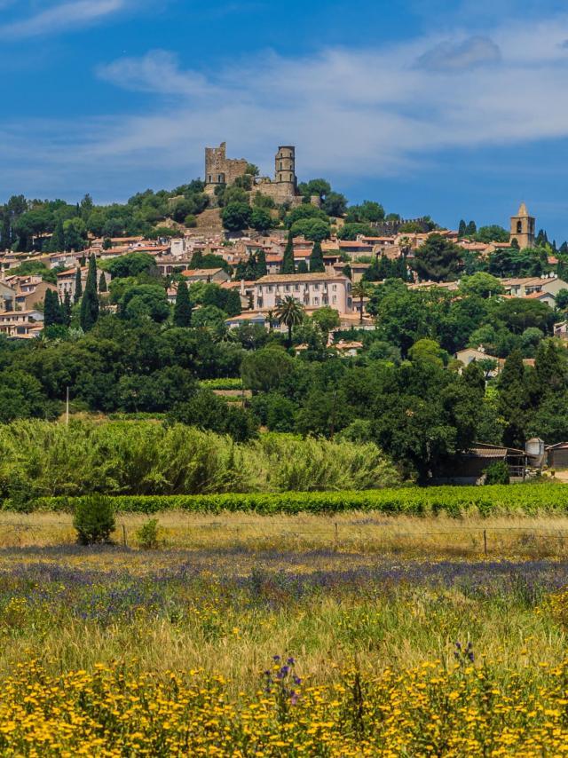 Grimaud village historique