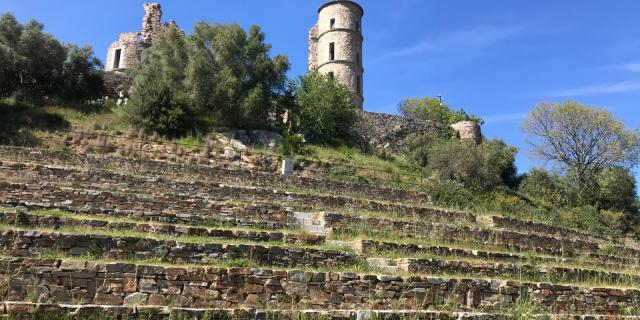 Les Exploratrices Golfe De Saint Tropez Grimaud Chateau