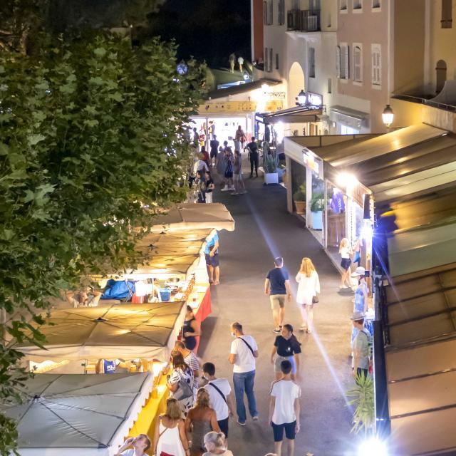 Marche Nocturne Port Grimaud Cote D Azur (14)