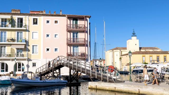 Pont Bois Port Grimaud