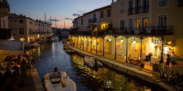 Port Grimaud Nuit Cite Lacustre Cote D Azur (6)