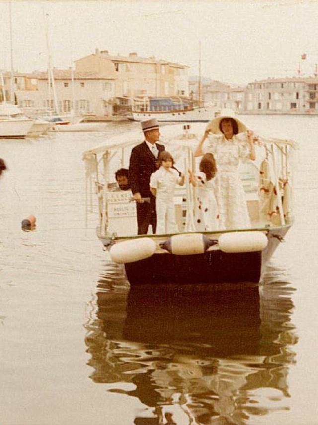 Premier Mariage A Port Grimaud (1)