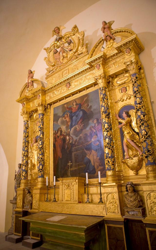 Chapelle Notre Dame de la Queste Grimaud Var (10)