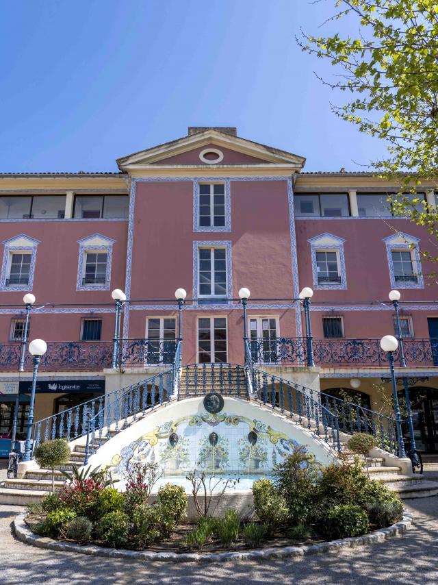 Fontaine Magistrale Port Grimaud 2 (3)