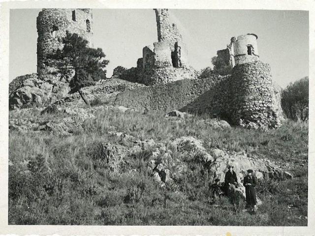Grimaud Provence Chateau Ruine