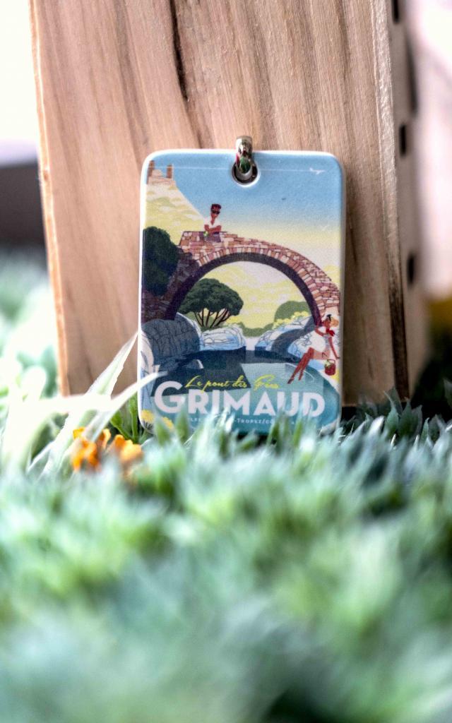 Porte Cle Grimaud (1)