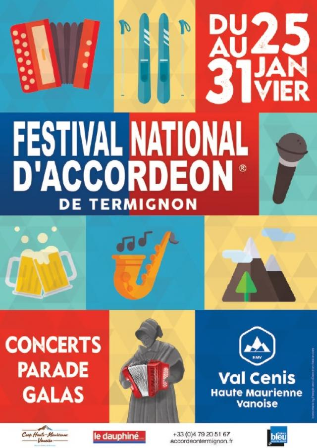 Affiche Festival Accordeon Termignon 2020
