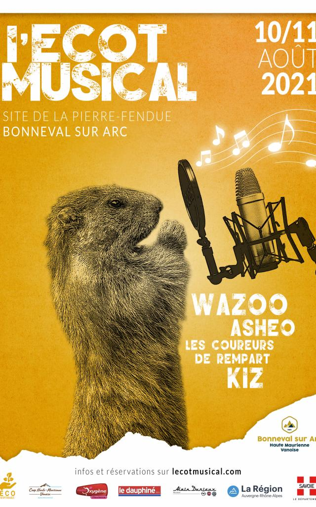 Affiche Ecot Musical 2021