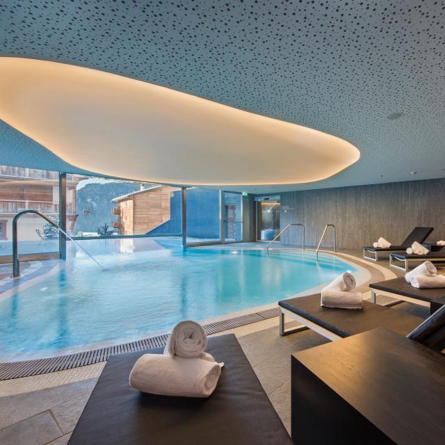 Away Spa de l'hôtel 5 étoiles W Verbier