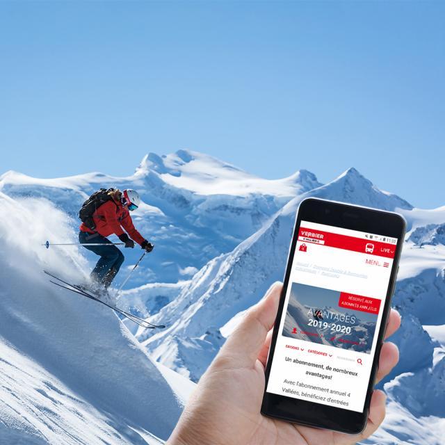 Carnet d'avantages digital 4 Vallées