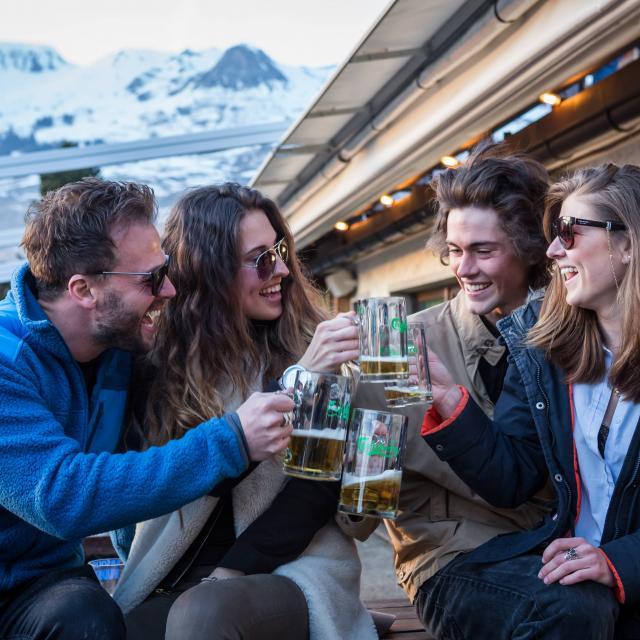 Bar et après ski à La Tzoumaz