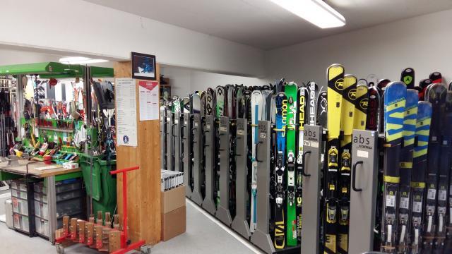 Location de matériel de ski à La Tzoumaz