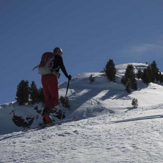 Ski De Randonnée à La Tzoumaz