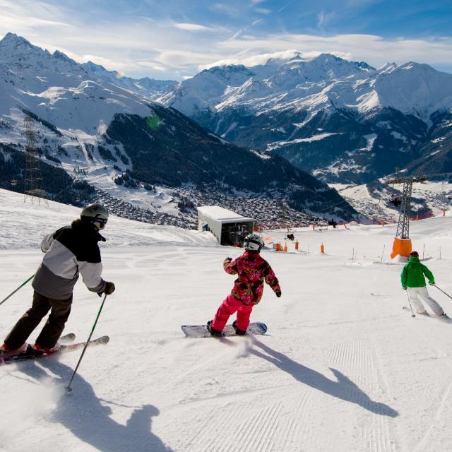 Ski et Snowboard à La Tzoumaz