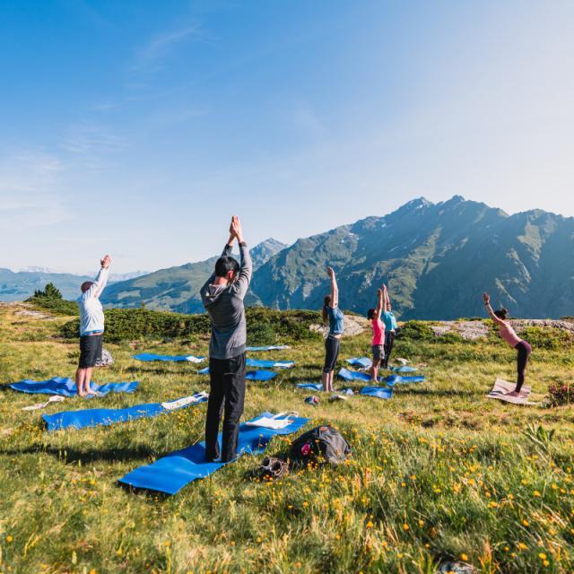 Offre de Yoga à La Tzoumaz