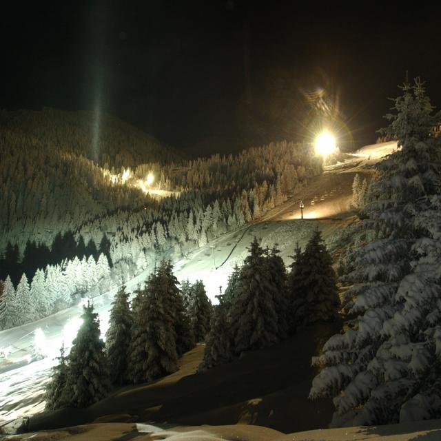 Station Le Collet d'ALLEVARD Ski de nuit