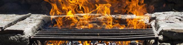 Barbecue au Collet d'Allevard en été