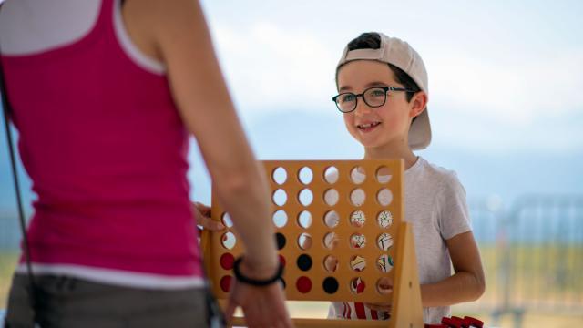 Jeux et animations au Collet d'Allevard en été
