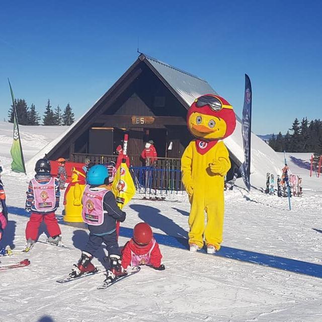 Cours de ski avec l'ESF au Collet