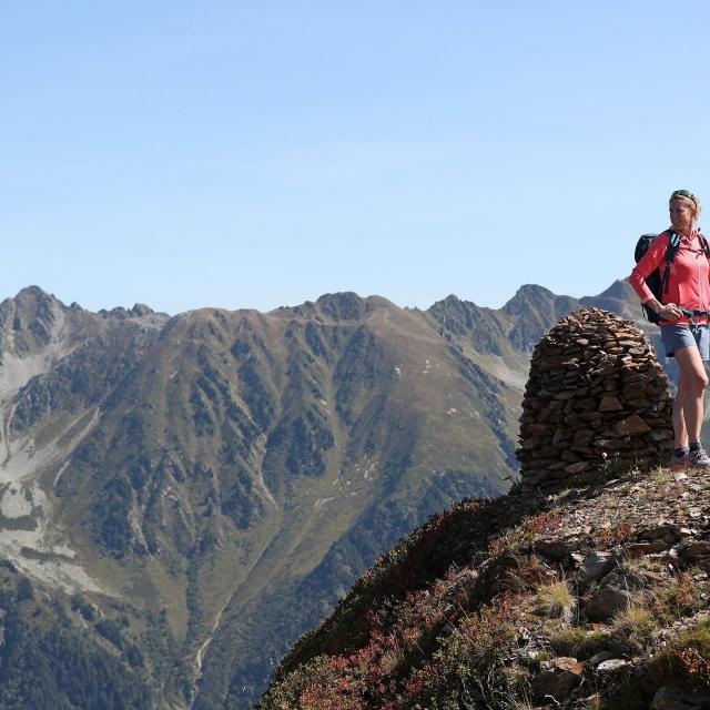 Randonnée en montagne au Collet en été