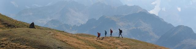 Randonnée en montagne au Collet d'Allevard