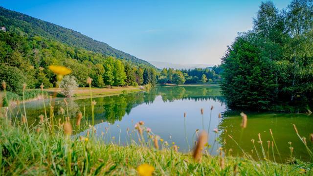 Lac de la Mirande Allevard-les-Bains