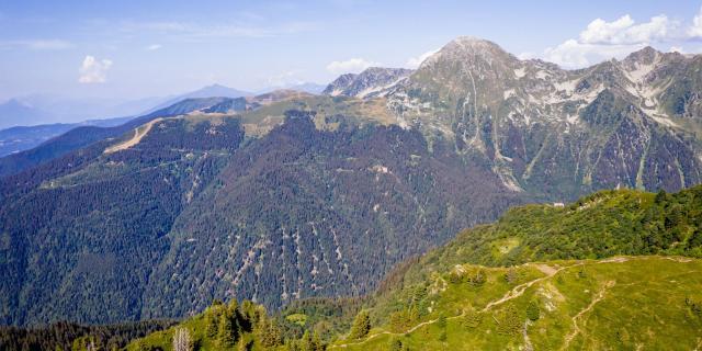 Paysage du Massif de Belledonne