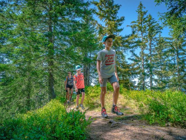 Balade en montagne au Collet d'Allevard en été