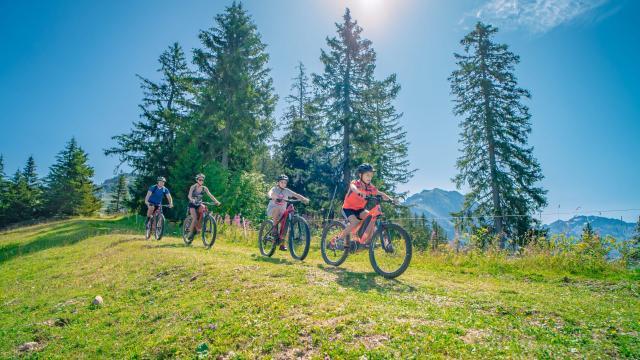 Balade en vélo élecrique au Collet