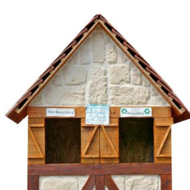 Poubelle Chouette Nature Sans Fond Bell