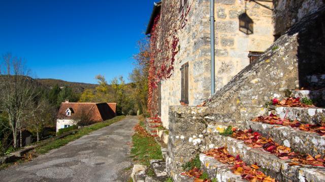 Un automne à Calvignac