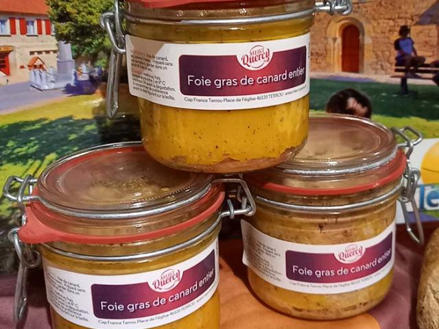 Lot de 3 foies gras de canard 180 gr