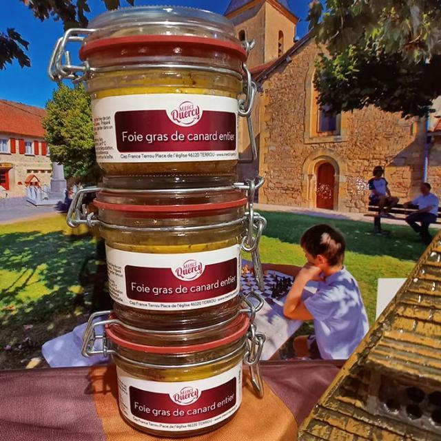 Lot de 3 foies gras 130 grammes