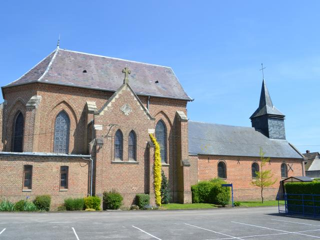 Destination Le Treport Mers Buigny Les Gamaches Eglise Village
