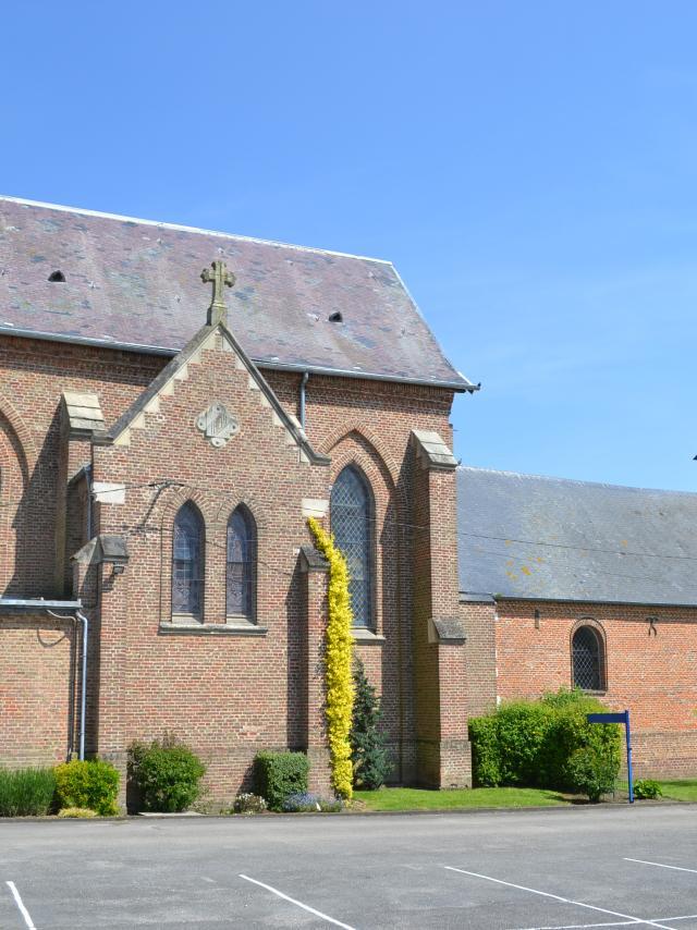 Destination Le Treport Mers Buigny Les Gamaches Eglise Village