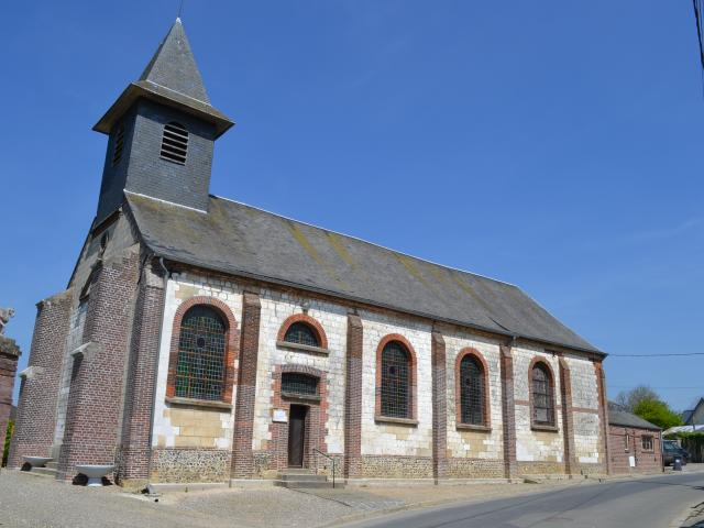 Destination Le Treport Mers Embreville Eglise Village