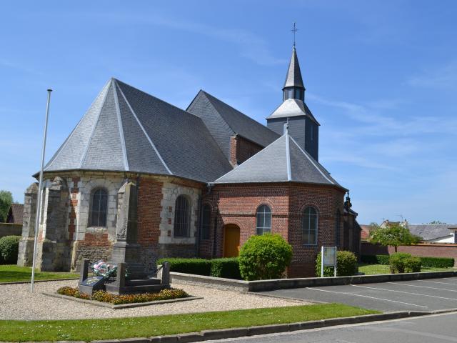 Destination Le Treport Mers Etalondes Eglise Village