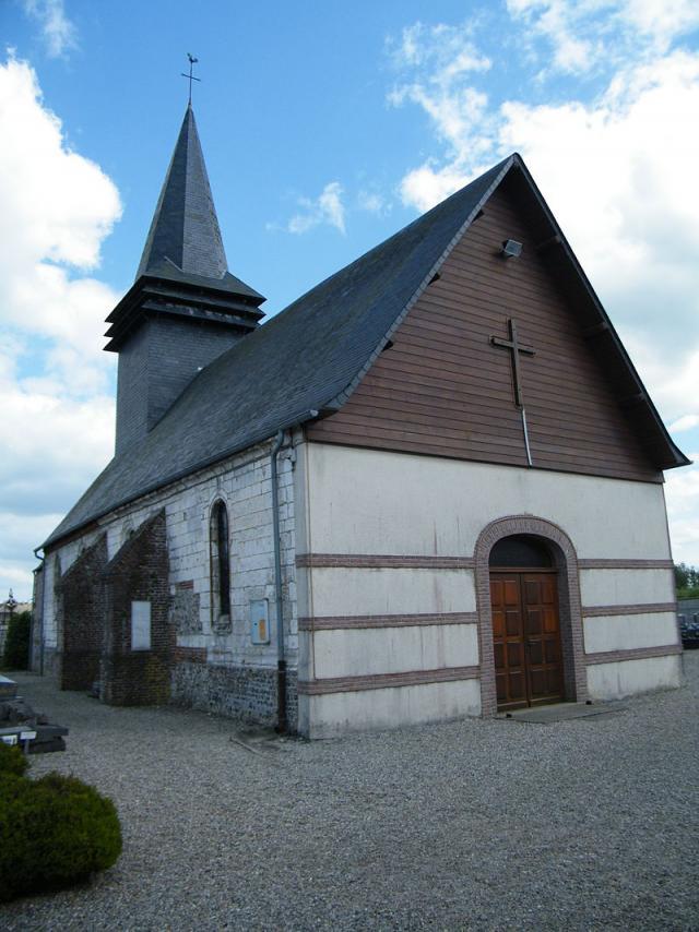 Destination Le Treport Mers Le Mesnil Reaume Eglise Village