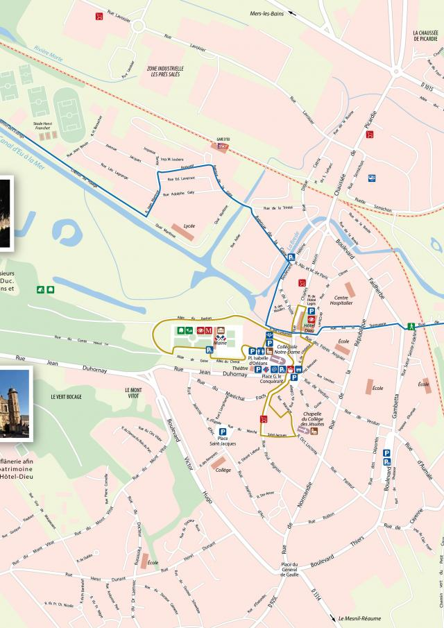 Plan Ville Eu 76260