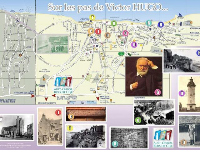 Plan Sur Les Pas De Victor Hugo