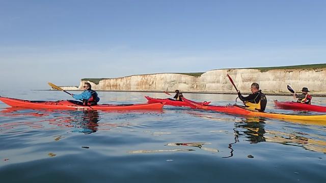 Criel Sur Mer Rand'eau Kayak 001