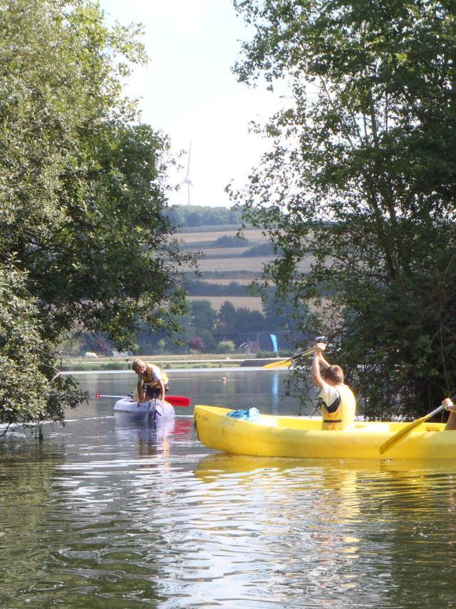 Canoë-Kayak sur la base de plein air de Gamaches