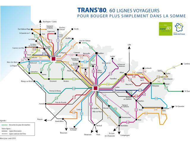 Transport dans le département de la Somme (80)