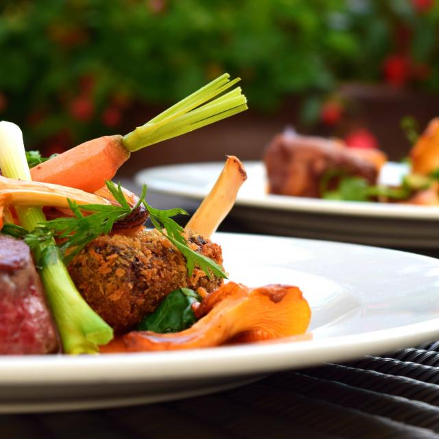 Plats légumes et viande
